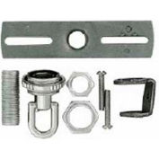 Satco 90-1694 Screw Collar Loop Parts Bag - Chrome Finish