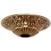 Satco 90-2382 Brass Canopy - Antique Brass Finish  5-1/2-in. Diameter