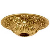 Satco 90-2383 Brass Canopy - Polished Brass Finish  5-1/2-in. Diameter
