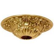 Satco 90-2383 Brass Canopy - Polished Brass Finish  5-1/2-in. Diameter
