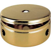 Satco 90-658 2-3/4-in. Fixture Body and Cover - Vacuum Brass Finish w/5 Arm Holes