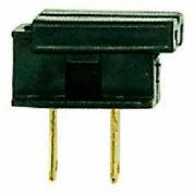 Satco 90-697 Slide Plug-Polarized 18/2-SPT-2  Black