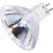 Satco S3169 50mr16/Fl/C 50w Halogen W/ Minature 2 Pin Round Base, 12v Bulb - Pkg Qty 12