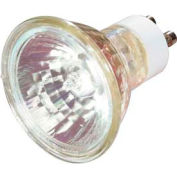 Satco S3517 50mr16/Gu10/Fl 50w Halogen W/ Twist & Turn Base Bulb - Pkg Qty 12