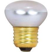 "Satco S3601 25r14 25w Incandescent W/ Medium Base, Mol 2-1/4"" Bulb - Pkg Qty 25"