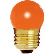 Satco S3610 7 1/2s11/O 7.5w General Service W/ Medium Base Bulb - Pkg Qty 25