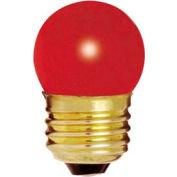Satco S3611 7 1/2s11/R 7.5w General Service W/ Medium Base Bulb - Pkg Qty 25