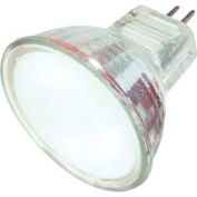Satco S4124 20mr11/Fl/Fr/C 20w Halogen W/ Sub Minature 2 Pin Base Bulb - Pkg Qty 12