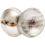 Satco S4319 4505 Aircraft Navigation 50w Sealed Beam W/ Screw Terminal Base Bulb - Pkg Qty 12