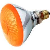 Satco S4425 100br38/A 100w Incandescent W/ Medium Base Bulb - Pkg Qty 6