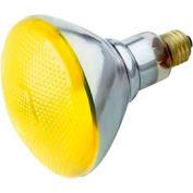 Satco S4426 100br38/Y 100w Incandescent W/ Medium Base Bulb - Pkg Qty 6