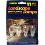 Satco S4553 11t5 11w Miniature W/ Mini Wedge Base Bulb - Pkg Qty 12