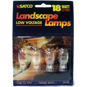 Satco S4554 18t5 18w Miniature & Sealed Beams W/ Mini Wedge Base Bulb - Pkg Qty 12