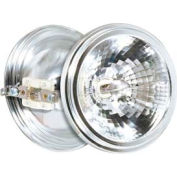 Satco S4691 75ar111/Sp8 75w Halogen Aluminum Reflector W/ G53 Base Bulb - Pkg Qty 6