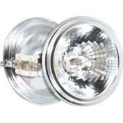 Satco S4694 100ar111/Sp8 100w Halogen Aluminum Reflector W/ G53 Base Bulb - Pkg Qty 6