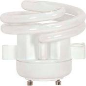 Satco S8227 13t2gu24v/27/Squat 13w W/ Twist & Turn Base - Warm- Cfl Bulb - Pkg Qty 12