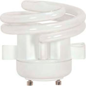 Satco S8228 18t2gu24v/27/Squat 18w W/ Twist & Turn Base - Warm- Cfl Bulb - Pkg Qty 12