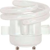 Satco S8228 18t2gu24v/27/Squat 18w W/ Twist & Turn Base - Warm- Cfl Bulb - Pkg Qty 12