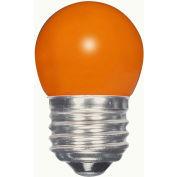 Satco S9164 1.2W LED S11 Night Light Bulb Medium Base Ceramic Orange