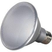 Satco S9417 13W PAR30 Short Neck LED 40' Beam Spread Medium Base 3500K Dimmable IP65