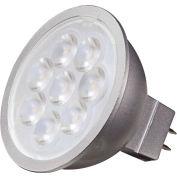 Satco S9492 6.5W MR16 LED 25' Beam Spread GU5.3 Base 3500K 12V