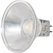 Satco S9552 3W LED MR16 LED 40' Beam Spread GU5.3 Base 3000K 12V