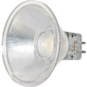 Satco S9553 3W LED MR16 LED 40' Beam Spread GU5.3 Base 5000K 12V