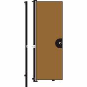 Screenflex 8'H Door - Mounted to End of Room Divider - Beech