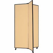 "3 Panel Display Tower, 5'9""H, Fabric - Desert"