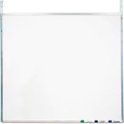 Screenflex White Melamine Marker Board with Strap Hangers