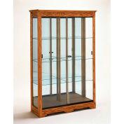 """6' Collectors Case 68296, Medium Oak, 72""""L X 17""""W"""