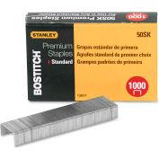 "Stanley Bostitch® Standard Premium Staples, 1/4"" Leg Length, 1000/Box"