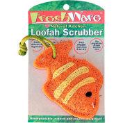 John Ritzenthaler 20006 Ritz FreshWare Loofah Scrubber Fish