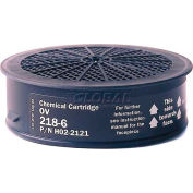 Sundstrom® Safety SR 218-6 Chemical Cartridge OV - Pkg Qty 40