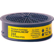 Sundstrom® Safety SR 232 Chemical Cartridge - Pkg Qty 4