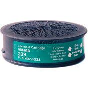 Sundstrom® Safety SR 229 Chemical Cartridge - Pkg Qty 4