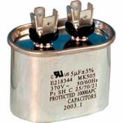 Supco® CD45+5X440, 45 + 5 MFD, 440V, Run Capacitor, Oval - Pkg Qty 5
