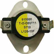 Supco Therm-O-Disc General Purpose Thermostat 165-145 - Min Qty 12