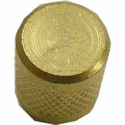 Supco Heavy Duty Round Brass Cap - Pkg Qty 25