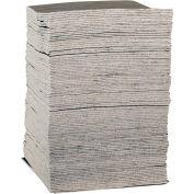 "EverSoak® Medium-Duty Absorbent Pads, 29 Gallon Capacity, 15"" x 19"", 100 Pads/Case"