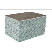 "DuraSoak™ Heavy-Duty Absorbent Pads, 23.5 Gallon Capacity, 15"" x 19"", 50 Pads/Case"