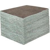 "DuraSoak™ Medium-Duty Absorbent Pads, 30.3 Gallon Capacity, 15"" x 19"", 100 Pads/Case"