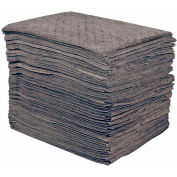 "Sellars® Universal Medium Weight Sorbent Pads, 19 Gallon Capacity, 15"" x 18"", 100 Pads/Bag"