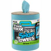 Sellars® Toolbox® Z400 Blue Shop Towel Refill, 200 Sheets/Refill, 6 Refills/Case 55207