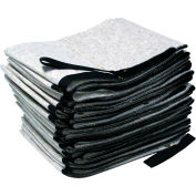 "EverSoak® Oil Only Cotton Absorbent Sweeps, 22 Gallon Capacity, 14-1/4"" x 100', 1 Sweep/Case"
