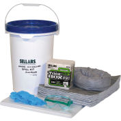 EverSoak® General Purpose 6.5 Gallon Pail Spill Kit, 6.5 Gallon Capacity, 1 Spill Kit/Case