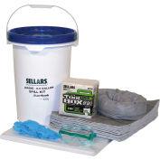 EverSoak® General Purpose 6.5 Gallon Pail Spill Kit, 6.5 Gallon Capacity, 1 Spill Kit/Case