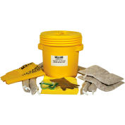 EverSoak® Hazmat 20 Gallon Drum Spill Kit, 22 Gallon Capacity, 1 Spill Kit/Case
