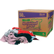 Sellars® Reclaimed Rags - Colored Fleece, 50 Lbs. 99202