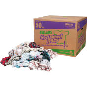 Sellars® Reclaimed Rags - Flannel, 50 Lbs. 99208